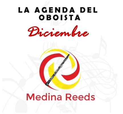 Agenda del oboísta Diciembre