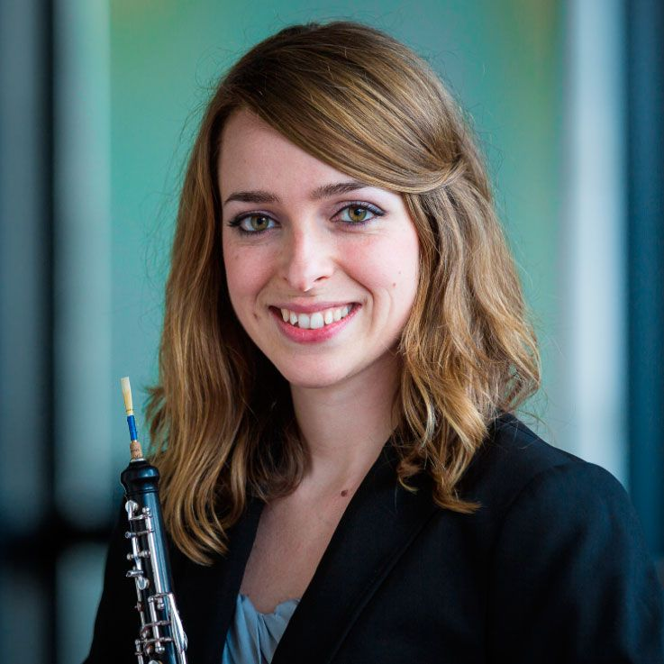 Miriam Pastor Burgos Medina Reeds oboist of the month.