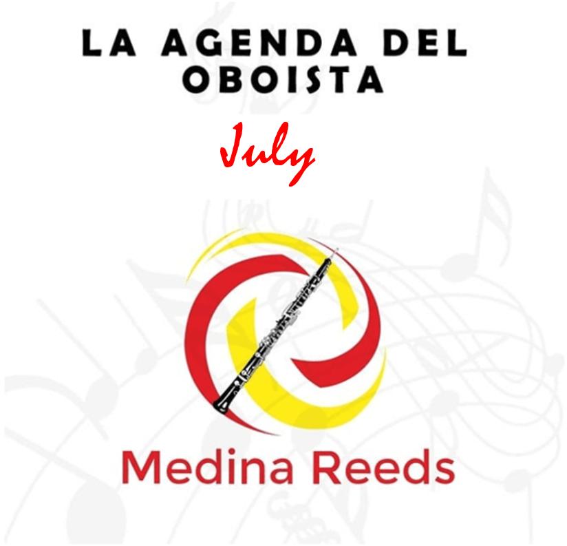 Eventos oboe Julio 2019